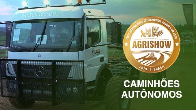 Caminhão Autônomo na Agrishow 2019