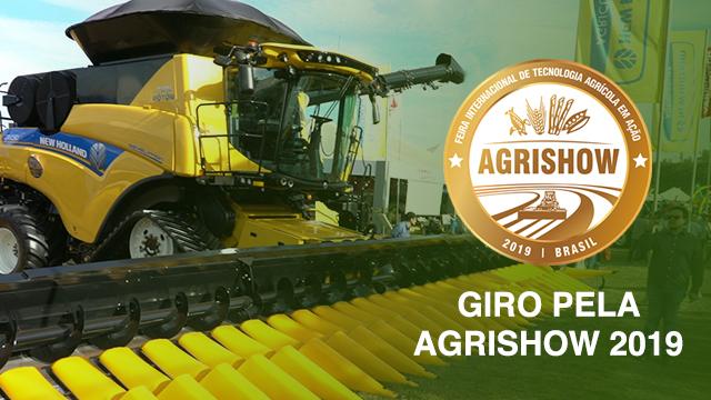 Giro pela Agrishow 2019